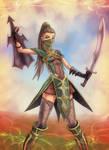 Shyrika - warrior girl - FEZ