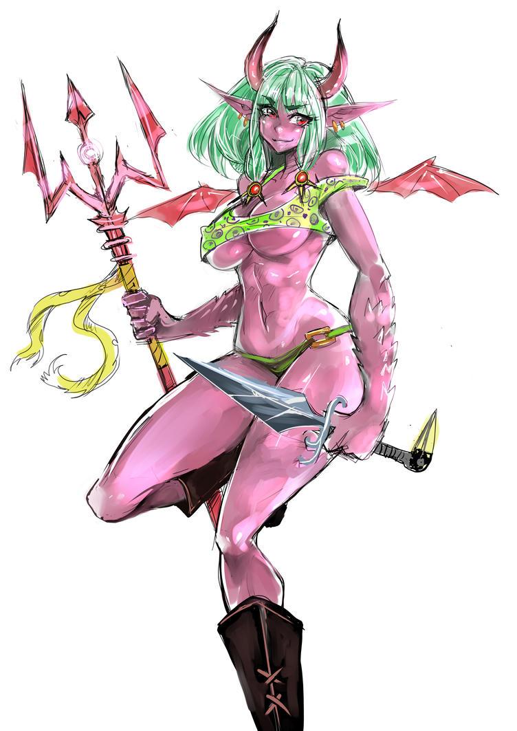 Monique Demonic by opcrom
