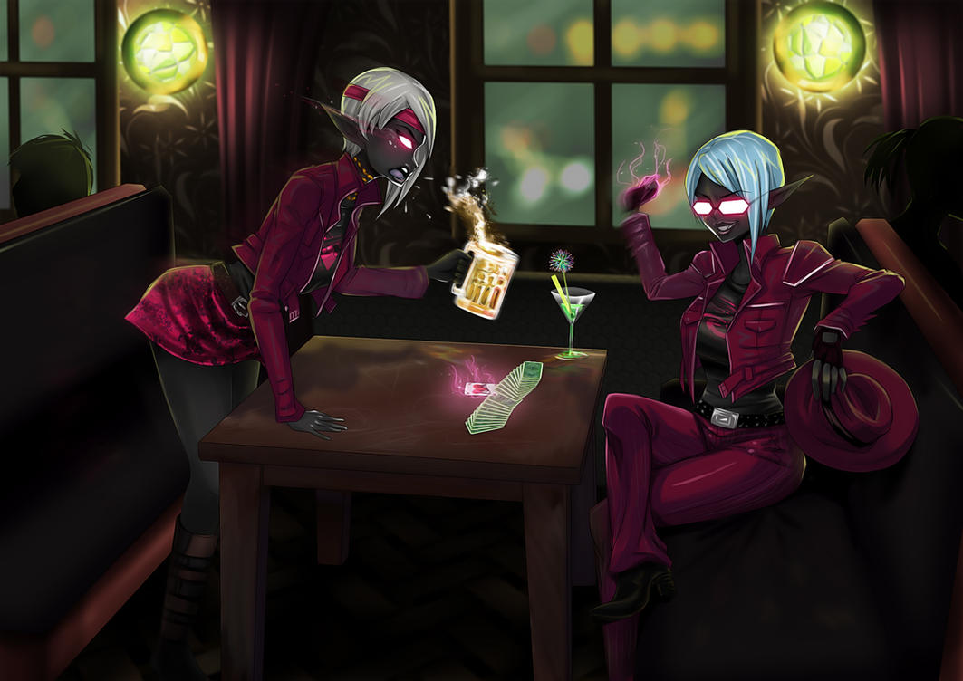 Bar trick by opcrom