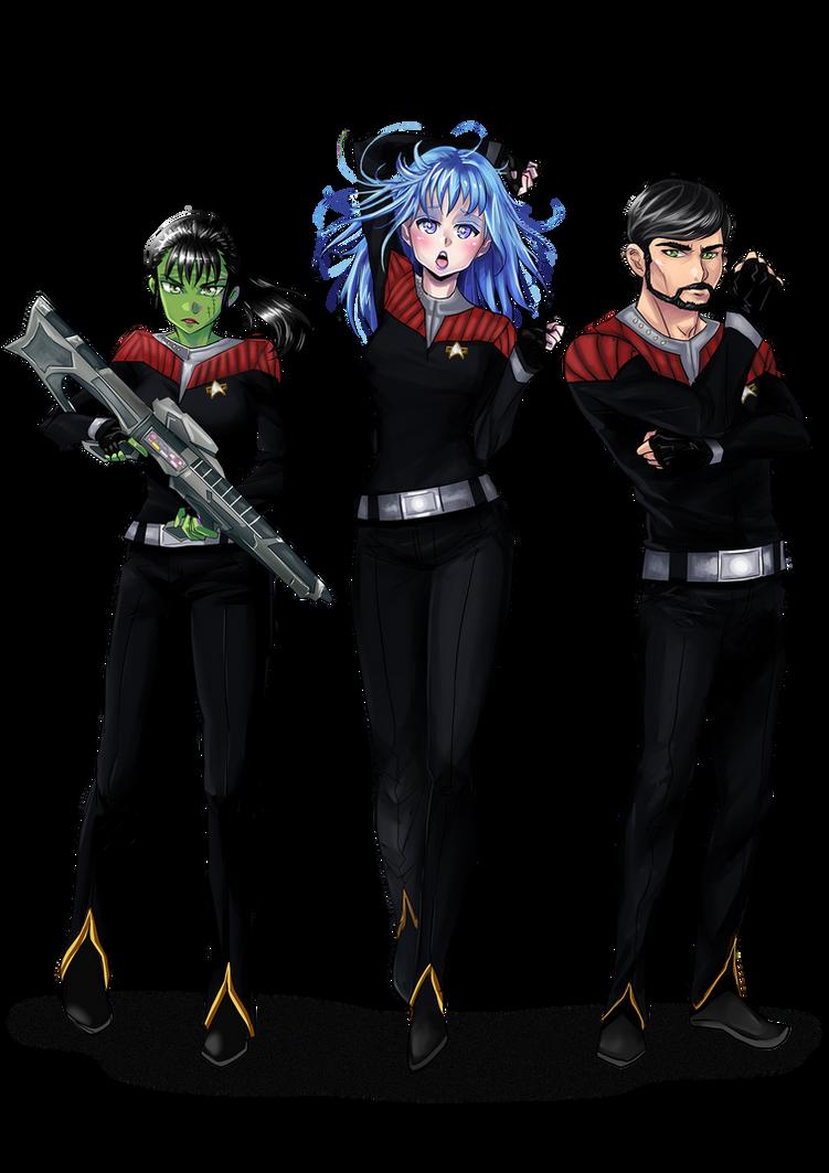 Trek trio by opcrom