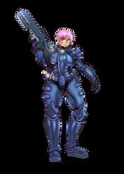 Diamond lily armor