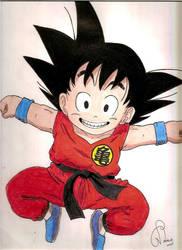 Goku by Princessnikoru