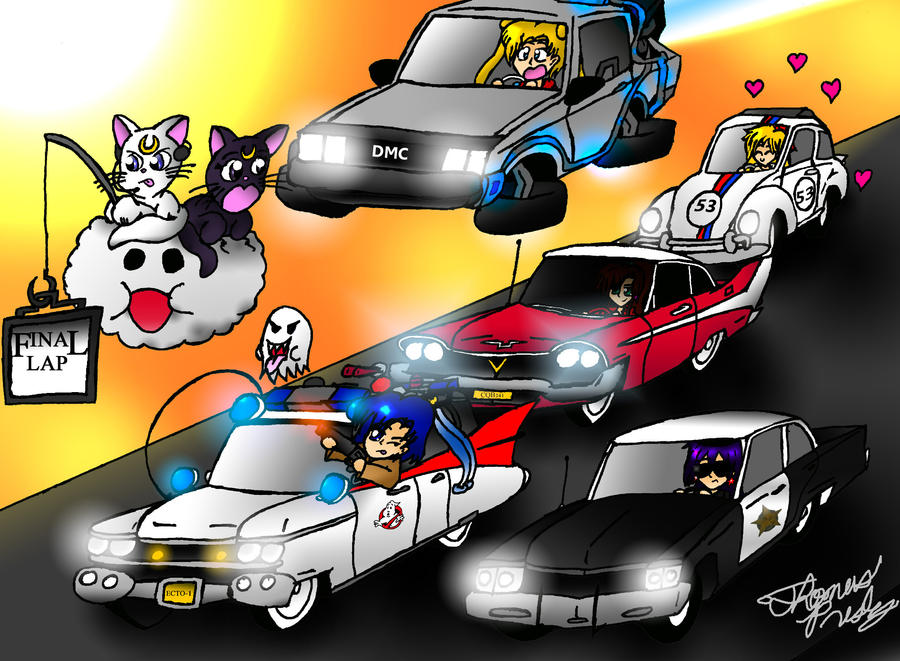 AT: Let's Have a Race by MeganekkoPlymouth241 on DeviantArt