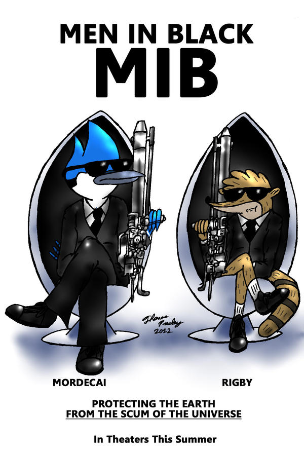 Here Come the Men in Black! by MeganekkoPlymouth241