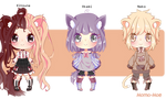 Auction Adoptables #1