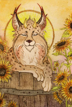 ACEO for Lynxfang's Versteck