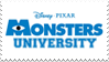 Monsters University Stamp by Asp3ll