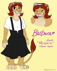 COM- Barbara by Pumpkin-Paw