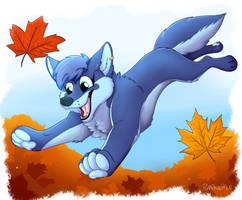 COM- Sammy in Autumn