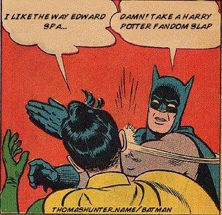 Batman vs. Edward by POtter-AAng-ERagon