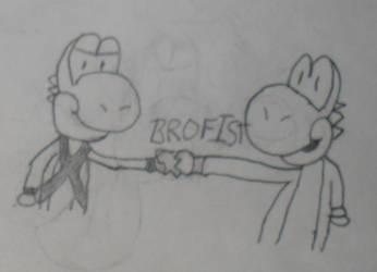Request: BROFIST! by TylorTheHedgehog