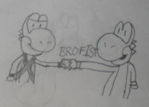 Request: BROFIST!