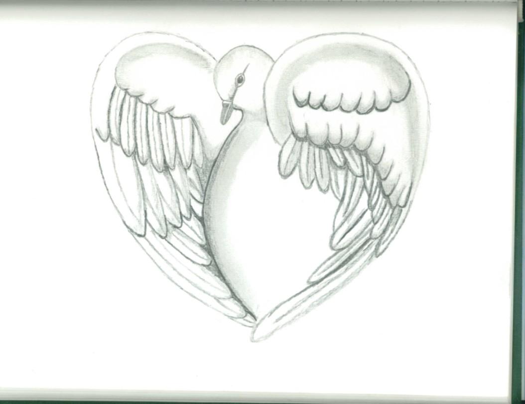 Dove Heart