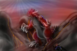 Groudon - Pokemon by IlCapoBianco