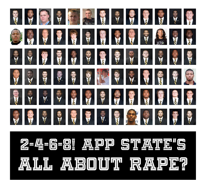 Appalachian State for Rape?