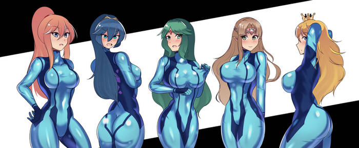 Zero suit girls