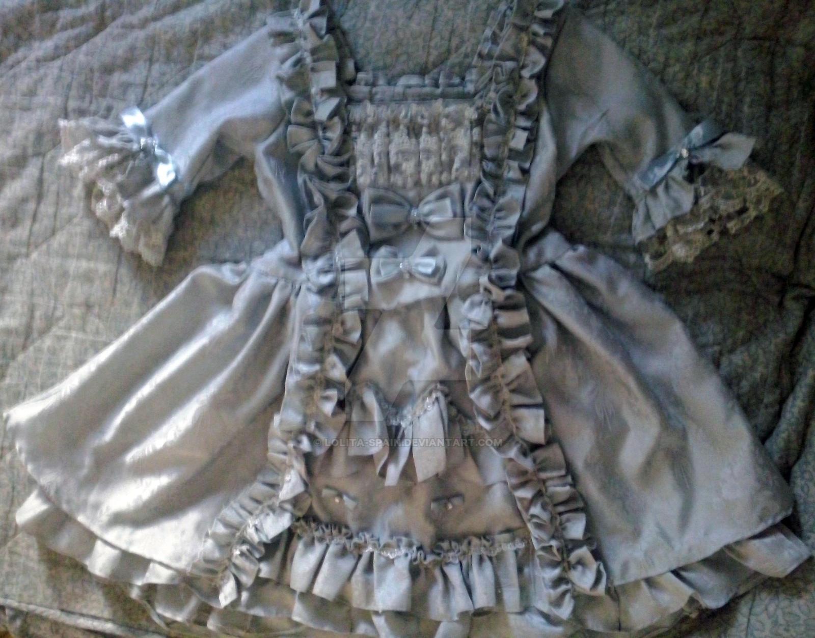 Robe a la francaise inspired lolita dress by lolita-spain