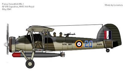 Fairey Swordfish Mk. I by Levanthera