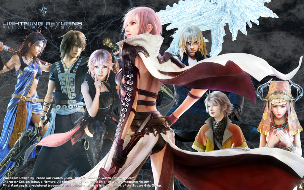 Lightning Returns Character Wallpaper By Traseedarkwatch