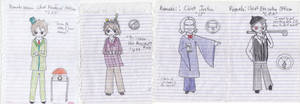 Toontown: Sketches of the Cogbosses