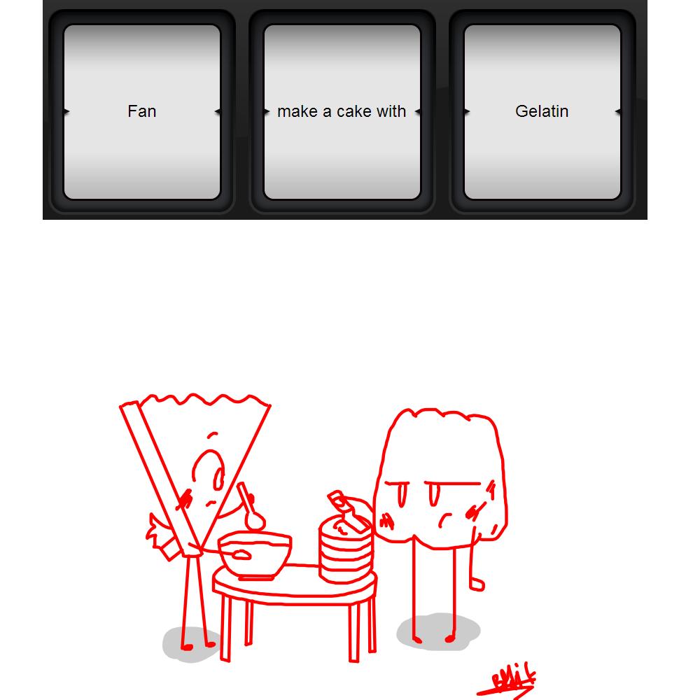 Fan Make A Cake With Gelatin (slot Machine) By BfdiFanzu