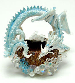 MINIATURE DRAGON BASKET