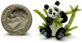 PANDA TEDDY BEAR BAMBOO TEAPOT