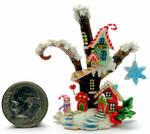 CHRISTMAS FAIRY HOUSE COTTAGE