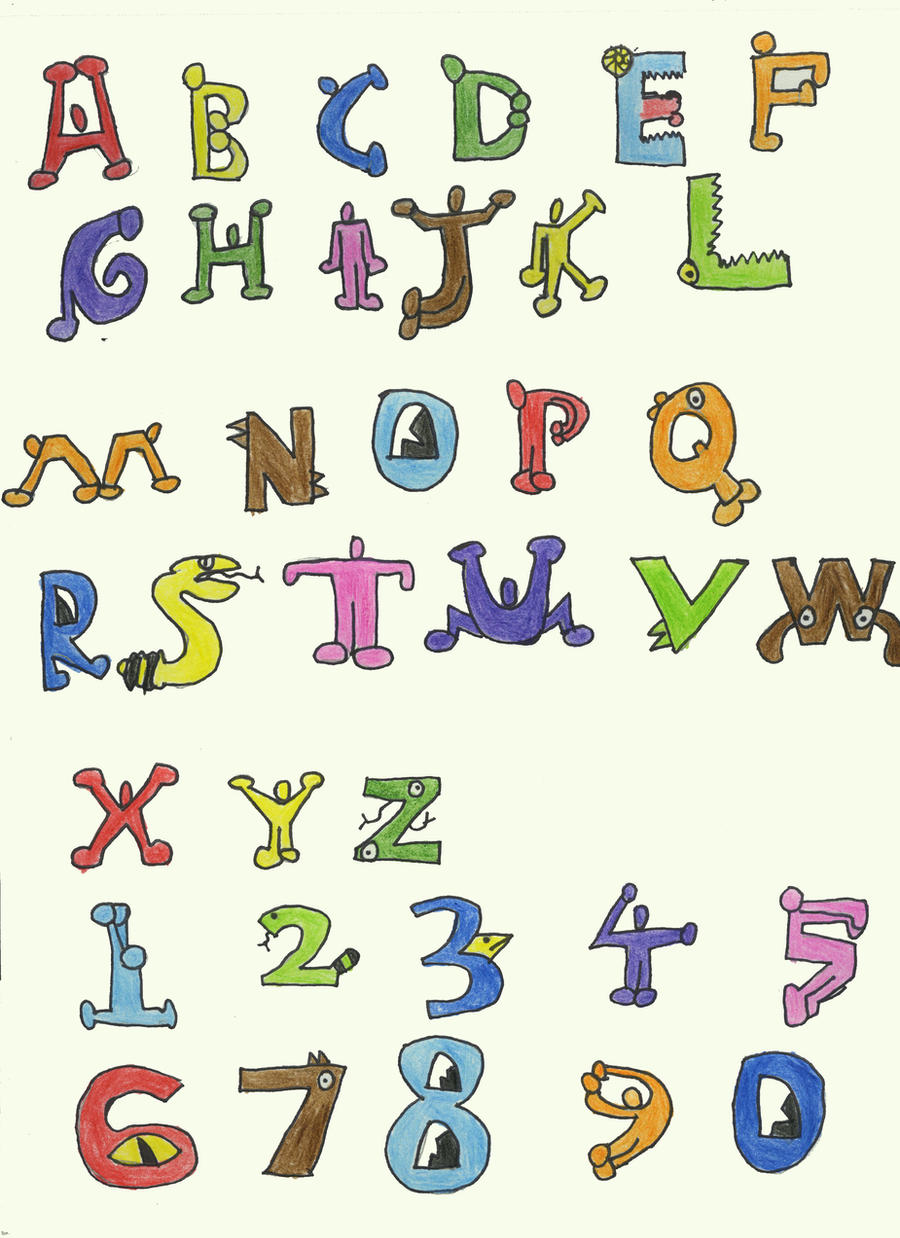 Alphabet Wallpapers  Background Images Wallpaper