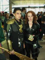 Loki and Black Widow by SuperPlayerJ