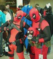 Deadpools by SuperPlayerJ