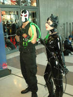 Bane and Catwomen by SuperPlayerJ