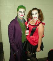 Joker and Harley by SuperPlayerJ