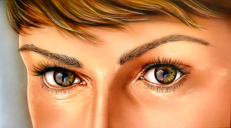 Beautiful Eyes by airartmikel