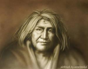indian, old man