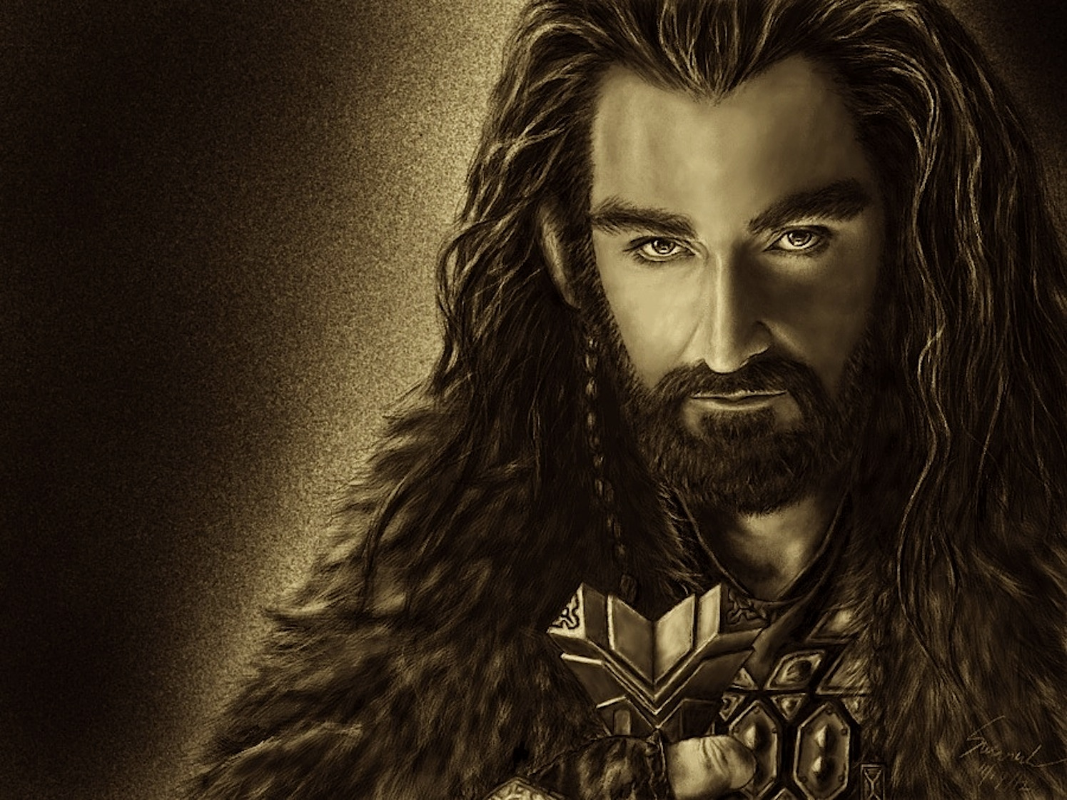 Thorin Oakenshield by Aster31