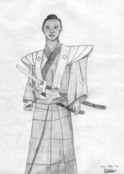 Samurai by Thunaeraz