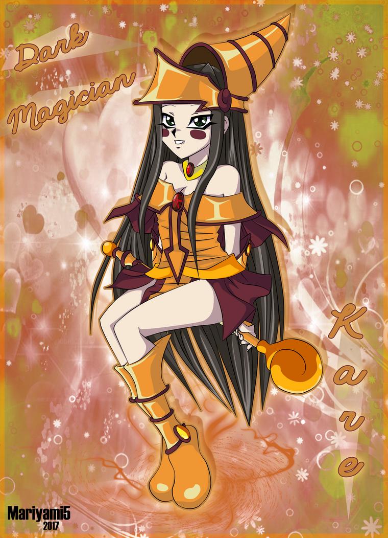 Dark_Magician_Kare by mariyami5