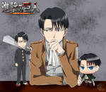Levi_Ackerman_SNK_Anime_Versions by mariyami5
