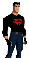 Superboy Young Justice Jlu