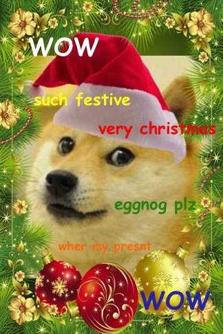 merry christmas doges by prussla - Christmas Doge