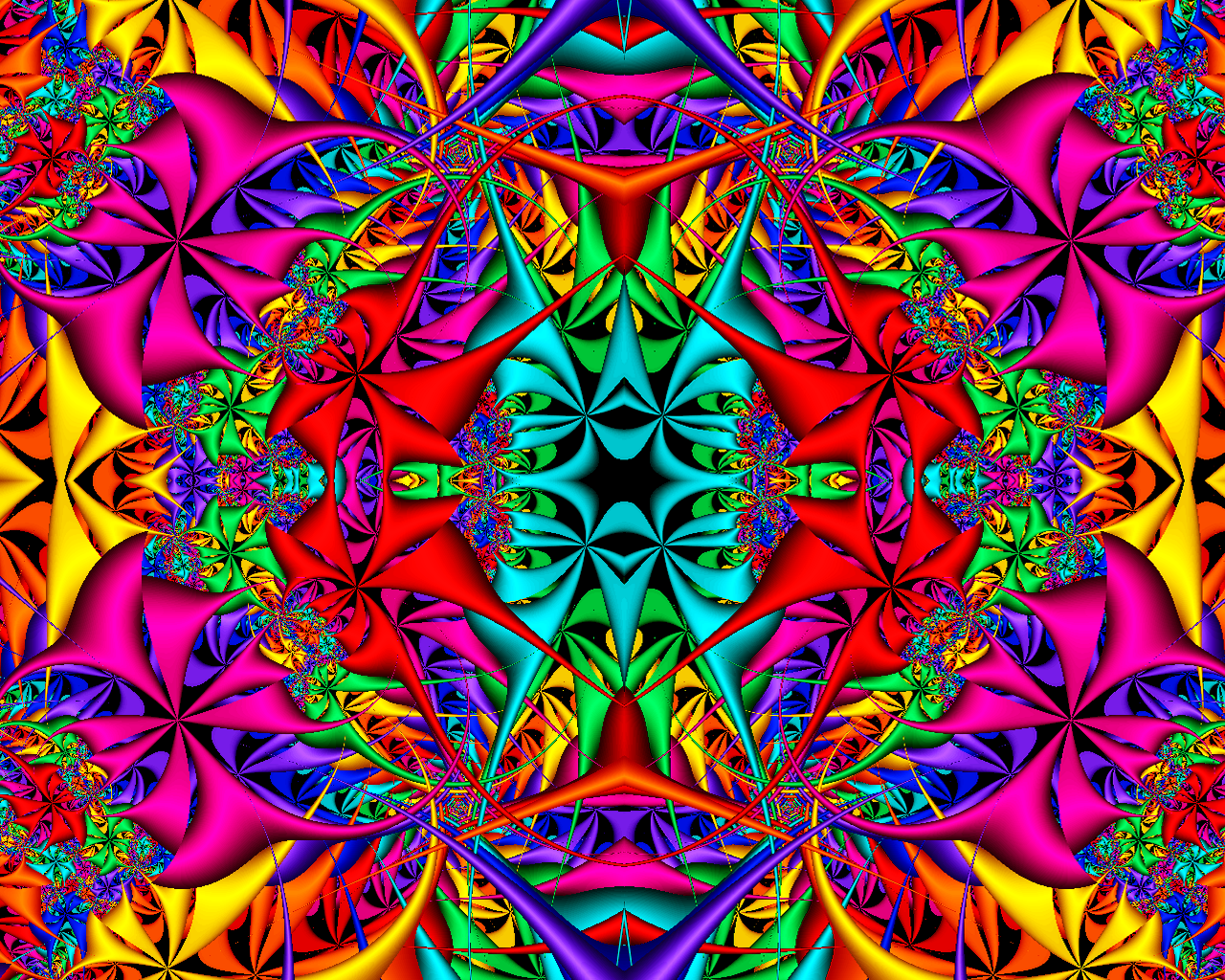 Hd Fractal Coloring Pages