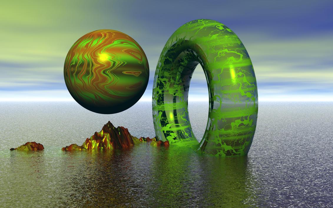 alien world by kram666