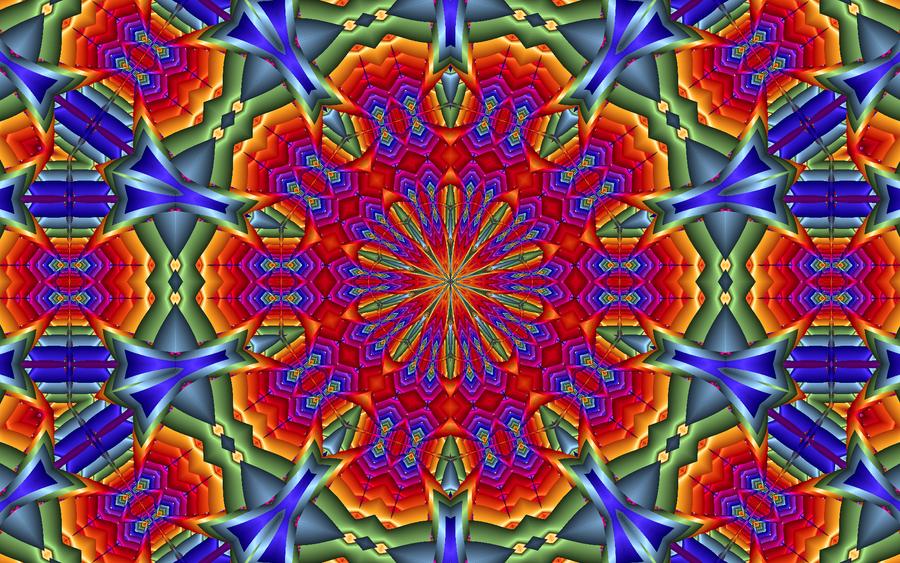 kaleidoscope by kram666