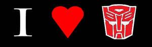 I ' Heart ' Autobot