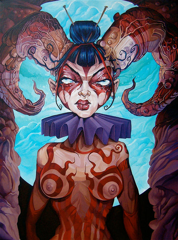 'Queen Of The Deep' by davidmacdowell