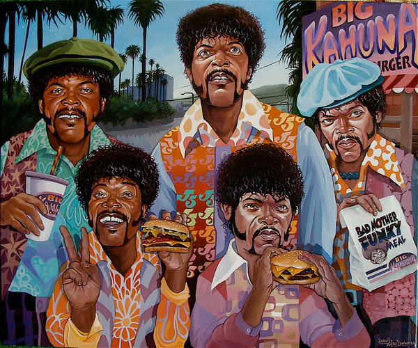 """The Samuel Jackson 5"" by davidmacdowell"