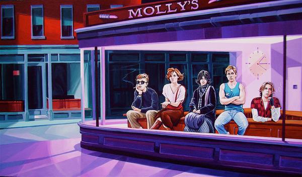 'Breakfast Hawks' by davidmacdowell