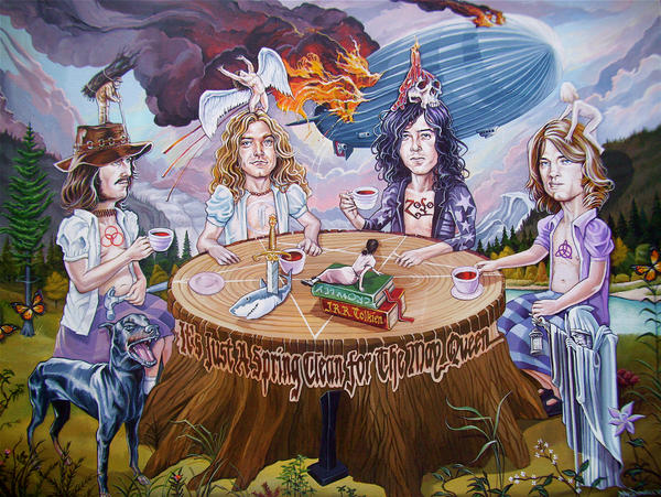 """Ridin' The Zeppelin"" by davidmacdowell"