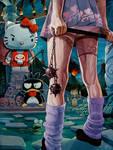 'Kitty Fight' by davidmacdowell
